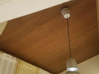 DIY ベニヤ仕上げの天井にしてみた