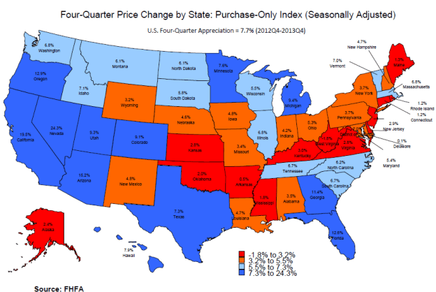 A breakdown look at home prices