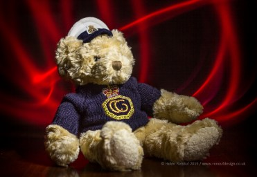 Teddy with light painting and light room adjustments.