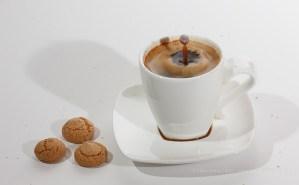 Black Coffee with a splash of milk