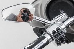 A selfie is a Harley - ISO160, F6.3, 1/125sec - Studio Flash