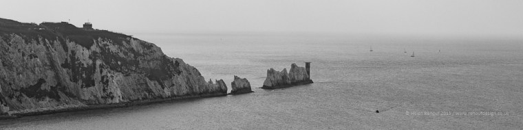 A different view of the Needles - ISO100, F7.1, 1/640sec
