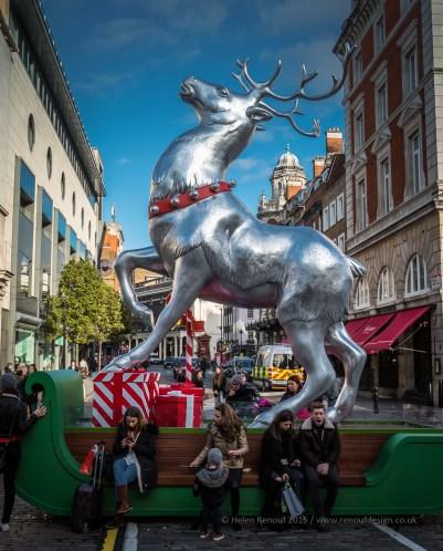 Giant Reindeer at Convert Gardens