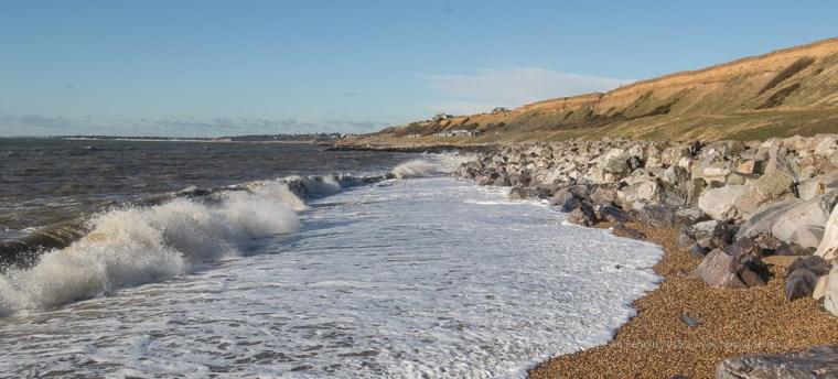 13 / 366 - Barton on Sea in the sunshine
