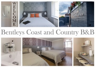 Bentleys Coast and Country B&B in Lymington, New Forest on the South Coast - a commercial shoot