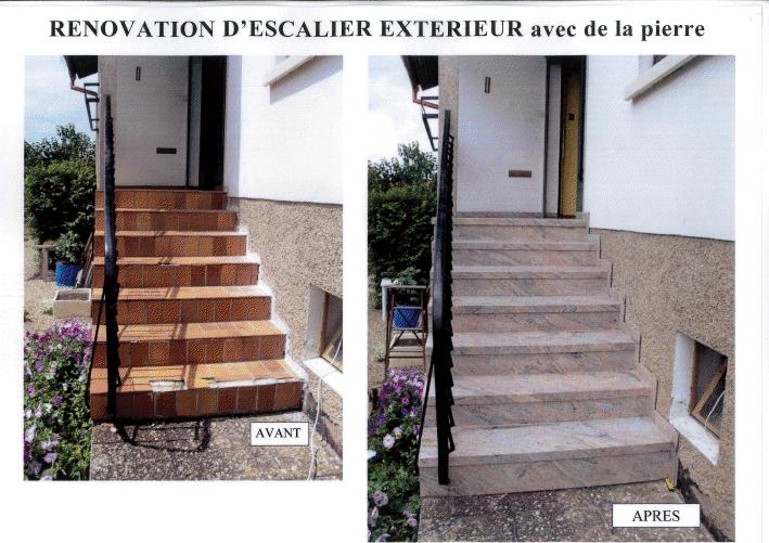 Renovation D Escaliers De Tous Types Bois Ou Beton Renov Escaliers