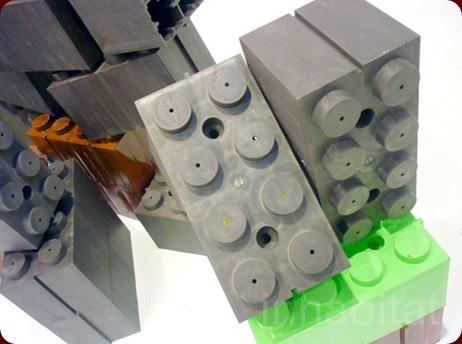 Construcciones con ladrillos de plástico tipo Lego (2/3)
