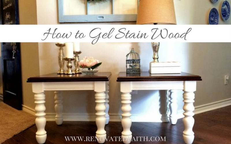 How To Gel Stain Wood