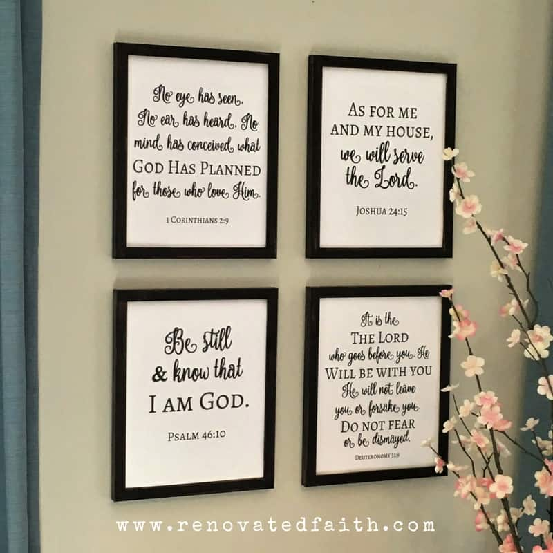DIY Faux Painted Signs www.renovatedfaith.com