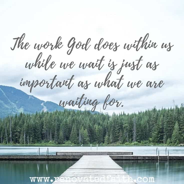 The work God does within us while we wait is just as important as what we are waiting for. So often when trying to understand God's call for my life, I felt like His plans for me were elusive and intangible. In this post, I'll share ways to better identify where He is calling you and hear His voice with these 7 tips on how to find God's calling for your life. #howtofindcalling #calling #god'swillforme www.renovatedfaith.com