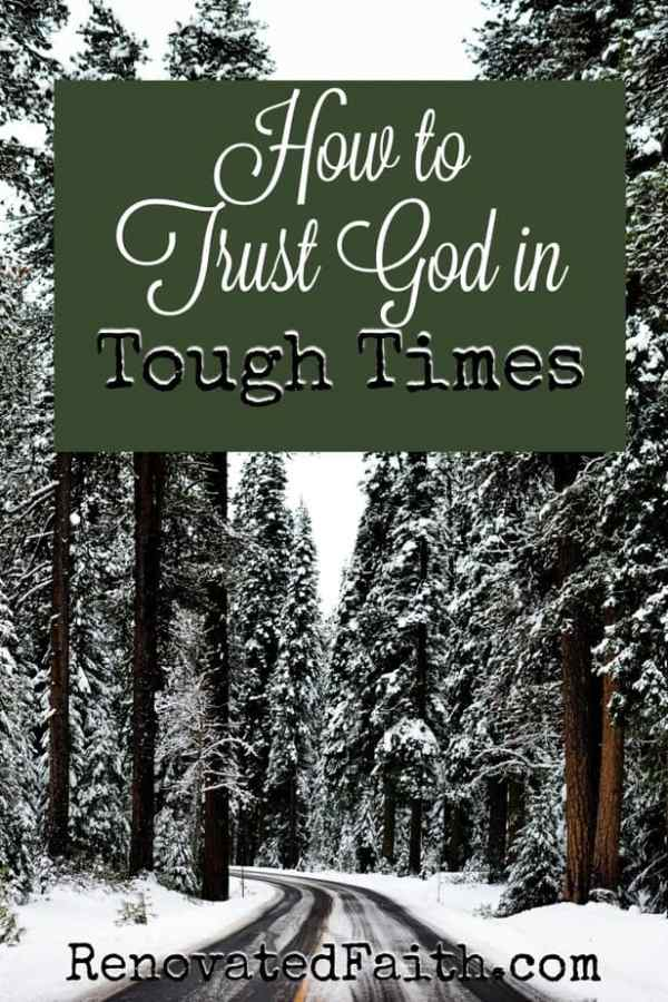 Trusting God in Tough Times – The second our prayers are uttered, God is already working on the behalf of his beloved children.  Hardship is part of life but we can be confident that even in life's toughest times, we can rest of the truths of God's Word to give us strength and faith.  May we turn our thoughts and heart to the very one who created us.  May the Lord's encouragement always be before us. #toughtimes #hardship #struggle #anxiety #waiting #testresults #faith #quotes #encouragement