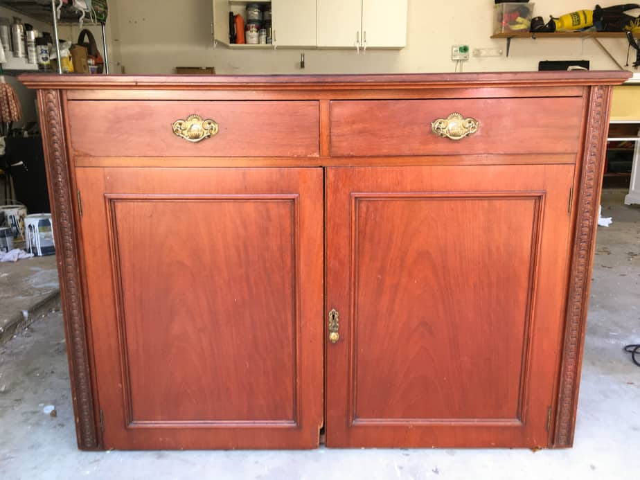 How To Add Feet To Furniture (Buffet Makeover) #furniturelegs  #furniturefeed #buffet