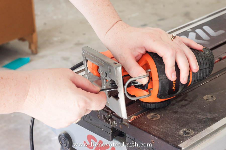 orange jig saw
