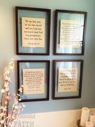 Framed Scripture Verses
