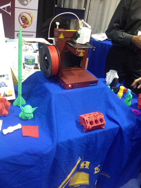3D Printers everywhere!