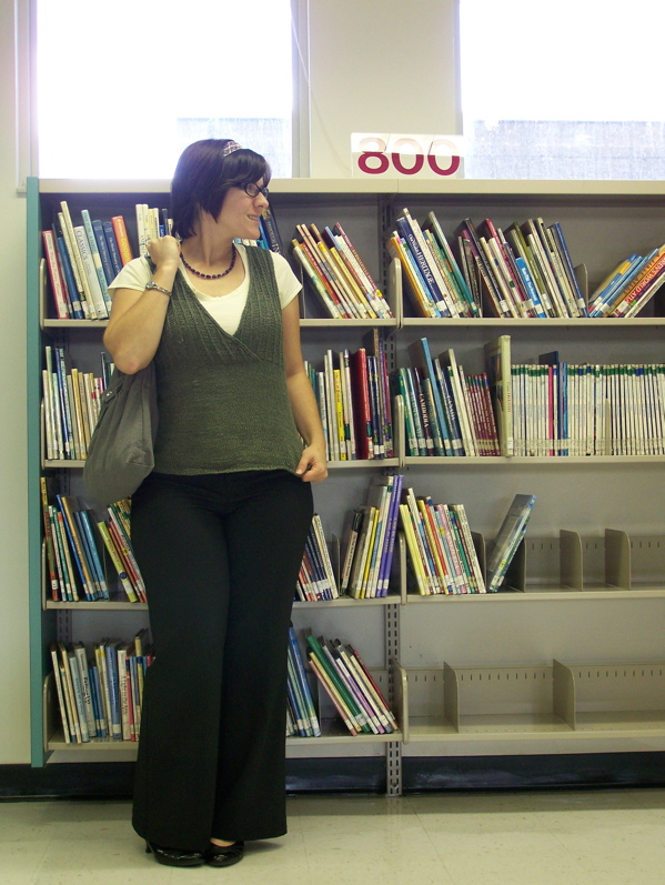 Working as a substitute elementary librarian