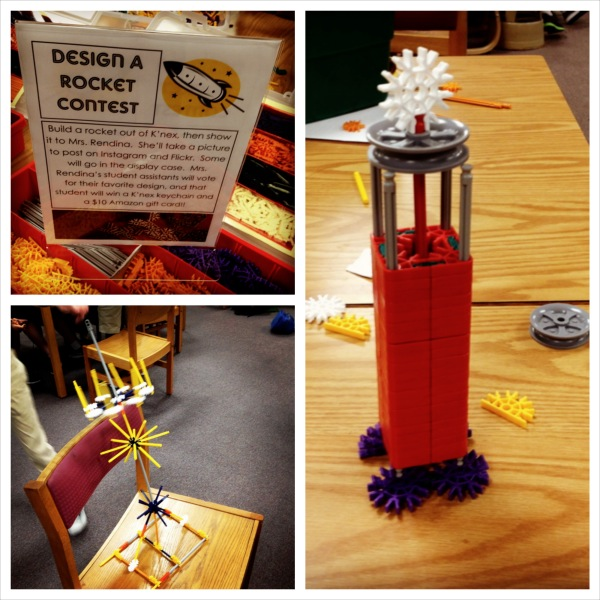 Design a rocket with K'nex