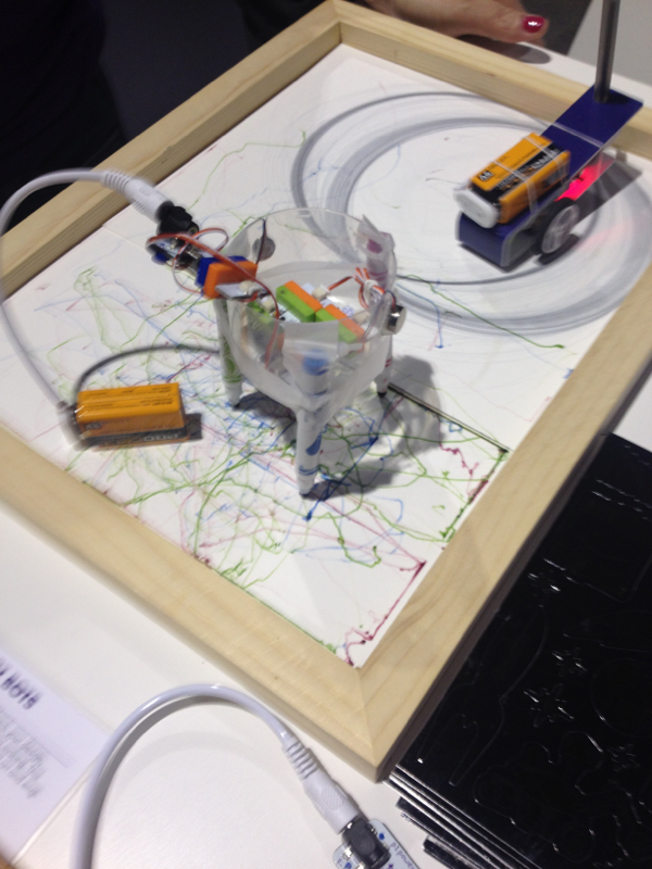 littleBits art bots