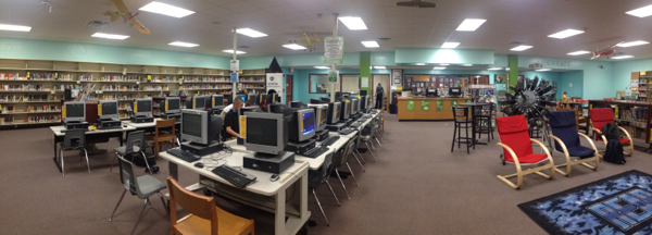 The Great Library Makeover Part 1