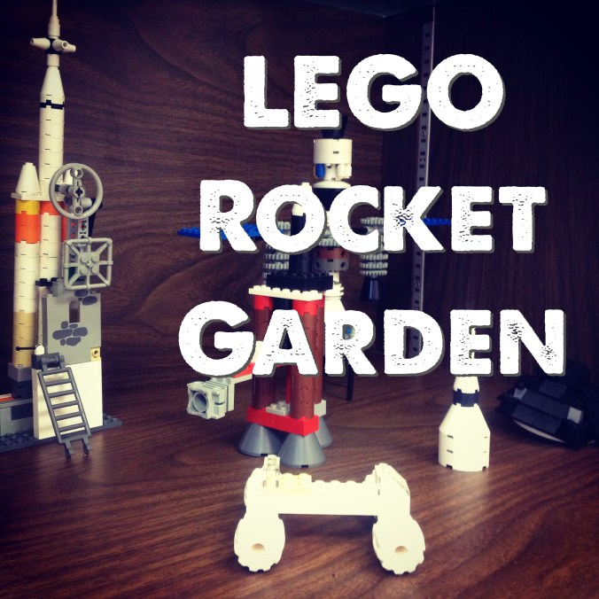 Build of the Week - LEGO Rocket Garden | RenovatedLearning.com