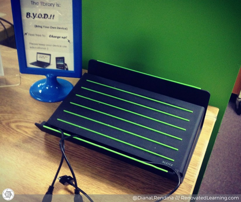 Our first charging station