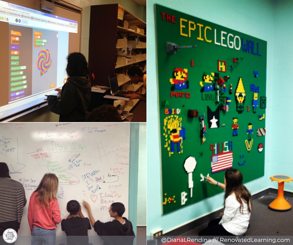 Create interactive spaces for students