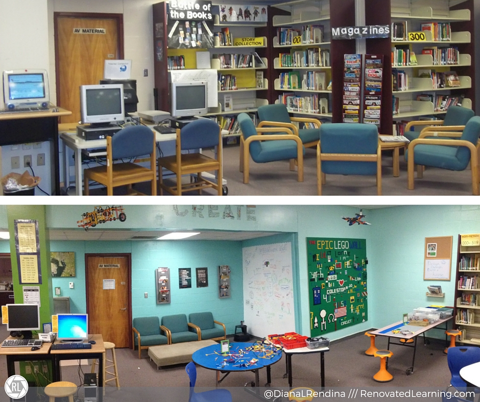 Innovative Elementary Classroom Furniture ~ Ways to rethink your library space and make it amazing
