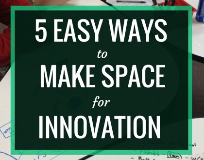 5 Easy Ways to Make Space for Innovation | Innovation is a hot topic in education, and it's essential for educators to find ways to support innovation in our students. In this article for AASL Knowledge Quest, I share five different ways that you can change up your library or classroom space to make room for innovation.