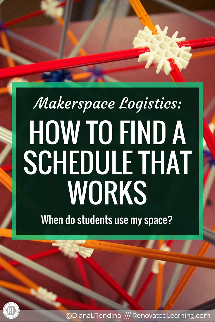 Makerspace Logistics: How to Find a Schedule that Works