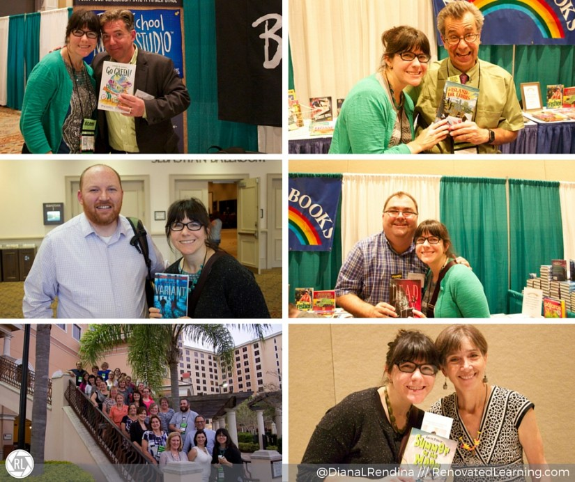 Meeting authors at FAME