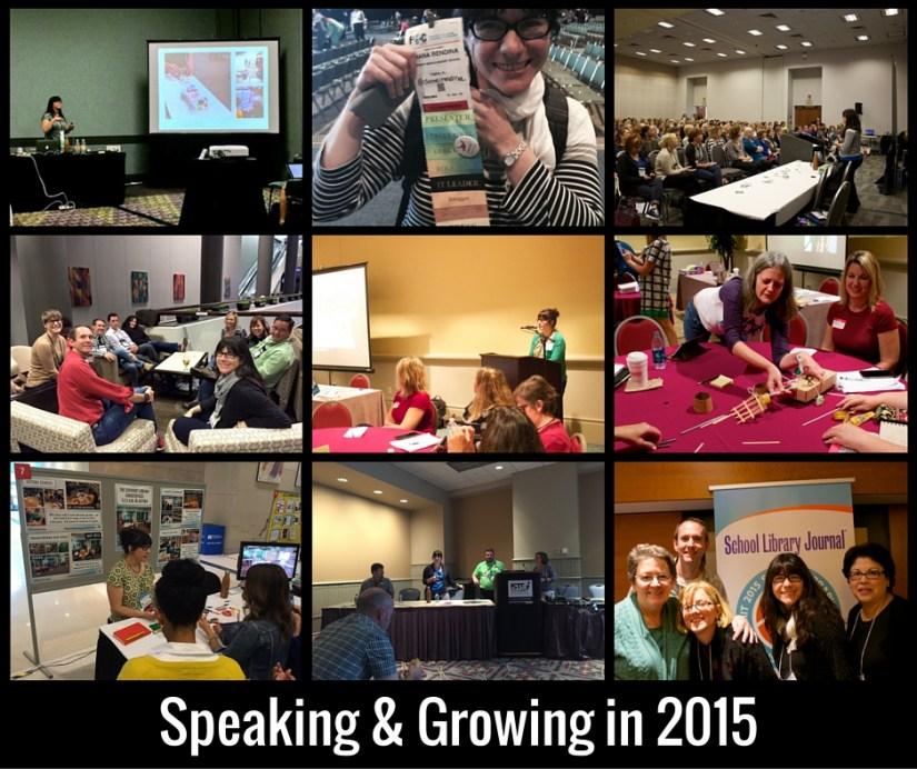 Speaking & Growing in 2015