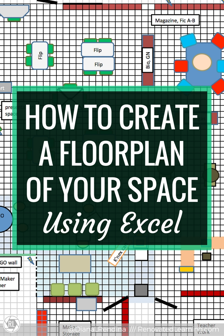 How to create a floorplan of your space in excel renovated learning how to create a floorplan of your space using excel in this tutorial learn buycottarizona