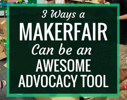 3 Ways a Makerfair Can Be An Awesome Advocacy Tool: AASL Post | A Makerfair can be an amazing advocacy tool for both your library and your makerspace. Learn how it can help you bring your community in, give your students a chance to be teachers and serve as a documentation of student learning.