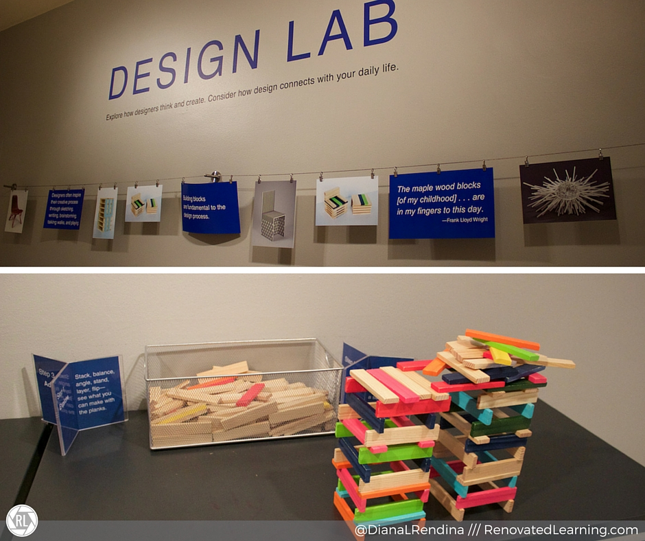 Mini makerspace in Denver Art Museum