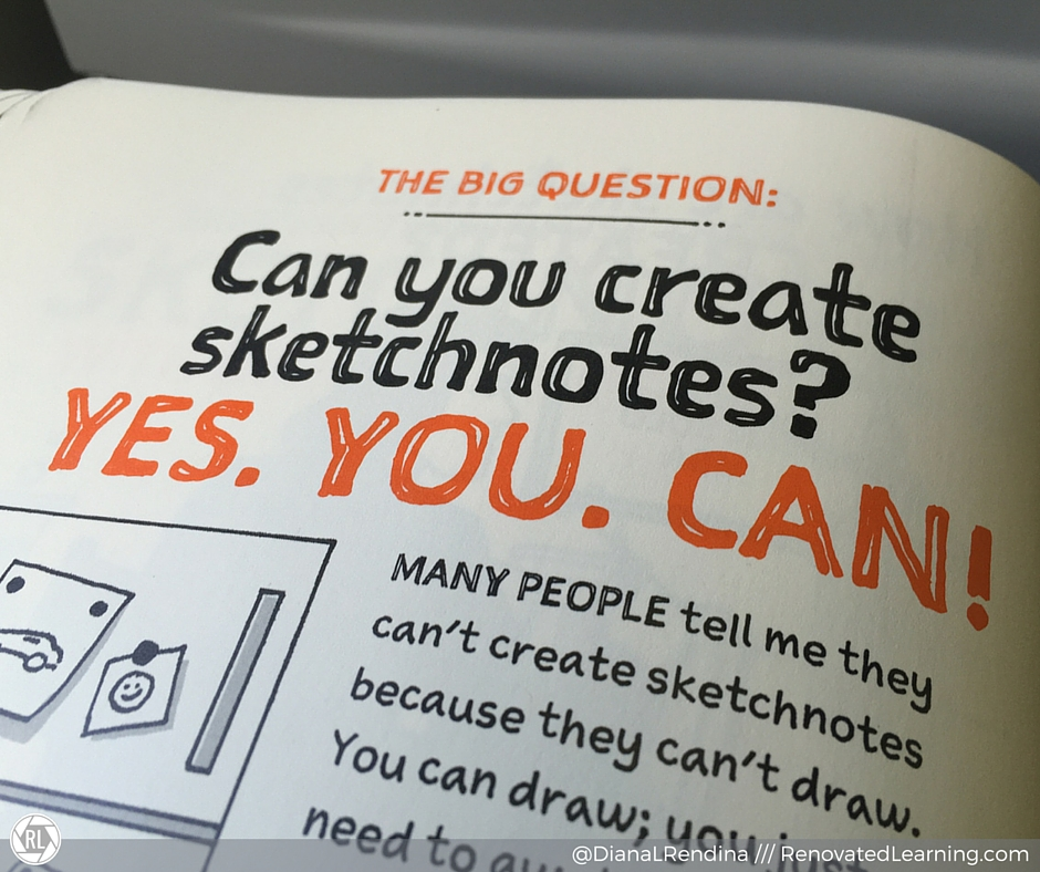 Can you create sketchnotes? Yes, you can.