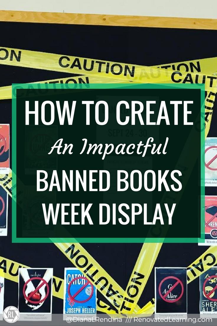 How To Create An Impactful Banned Books Week Display