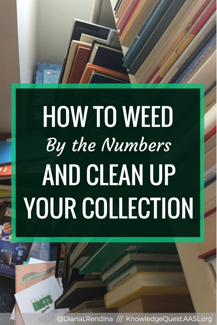 How to Weed By the Numbers and Clean Up Your Collection | Weeding can be emotional and hard sometimes. We attach so much to books. But if you focus on the data, it can be so much easier to clean out your collection.