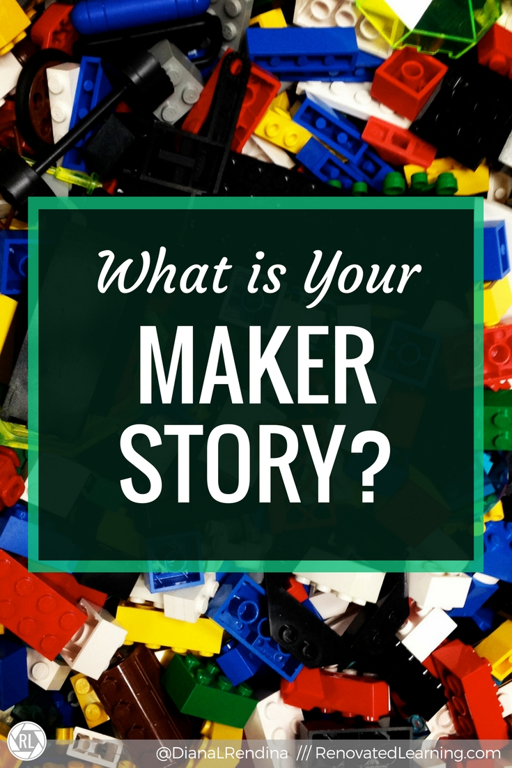 What is Your Maker Story? // You may not realize it, but I believe that everyone has a Maker story, a tale of their journey to being a maker. Here's a bit of mine.