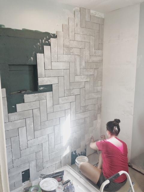 week 3 bathroom remodel progress renovating mapleson manor