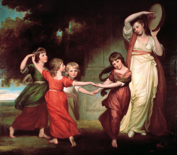 George Romney – The Children of Granville, 2nd Earl Gower