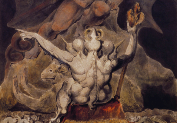 William Blake – The Number of the Beast is 666
