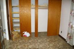 2nd floor bedroom - to be the master bathroom.