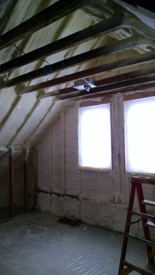 Second floor again, looks like our master suite will probably be the first floor that gets finished!