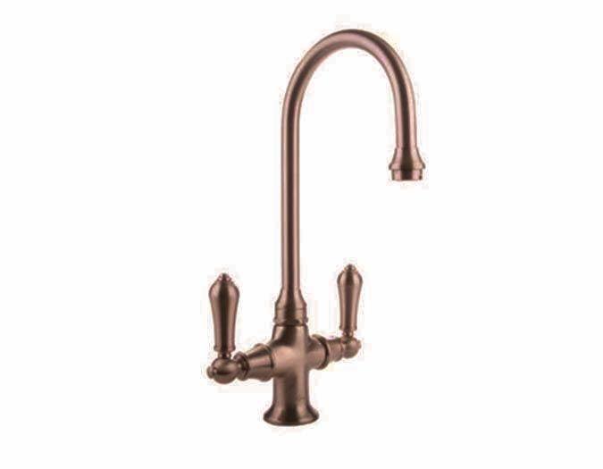 graff vista antique copper kitchen faucet