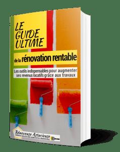 """Reçois le livre offert """"le guide ultime de la rénovation rentable"""""""