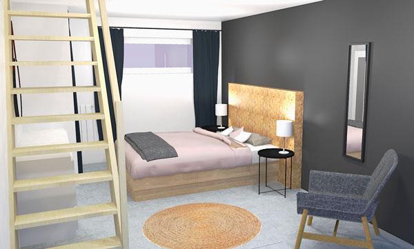 En offrant un logement plus confortable, tu loueras plus cher, à des clients qui resteront probablement plus longtemps.