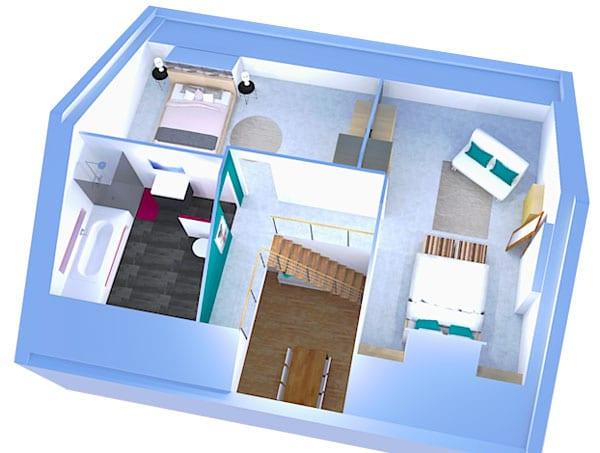 Dessiner le plan de mes combles en 3D m'a permis d'économiser 3000 euros