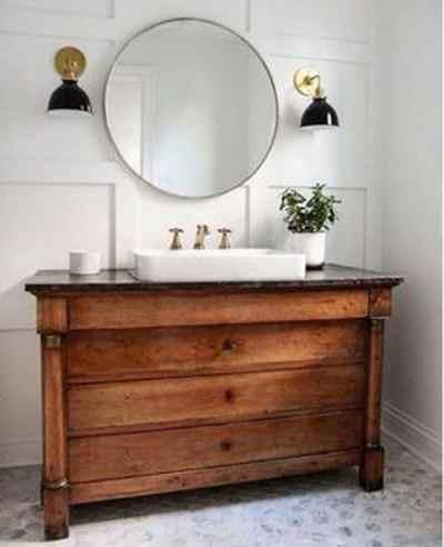Récupère et détourne des meubles anciens pour économiser et donner du cachet