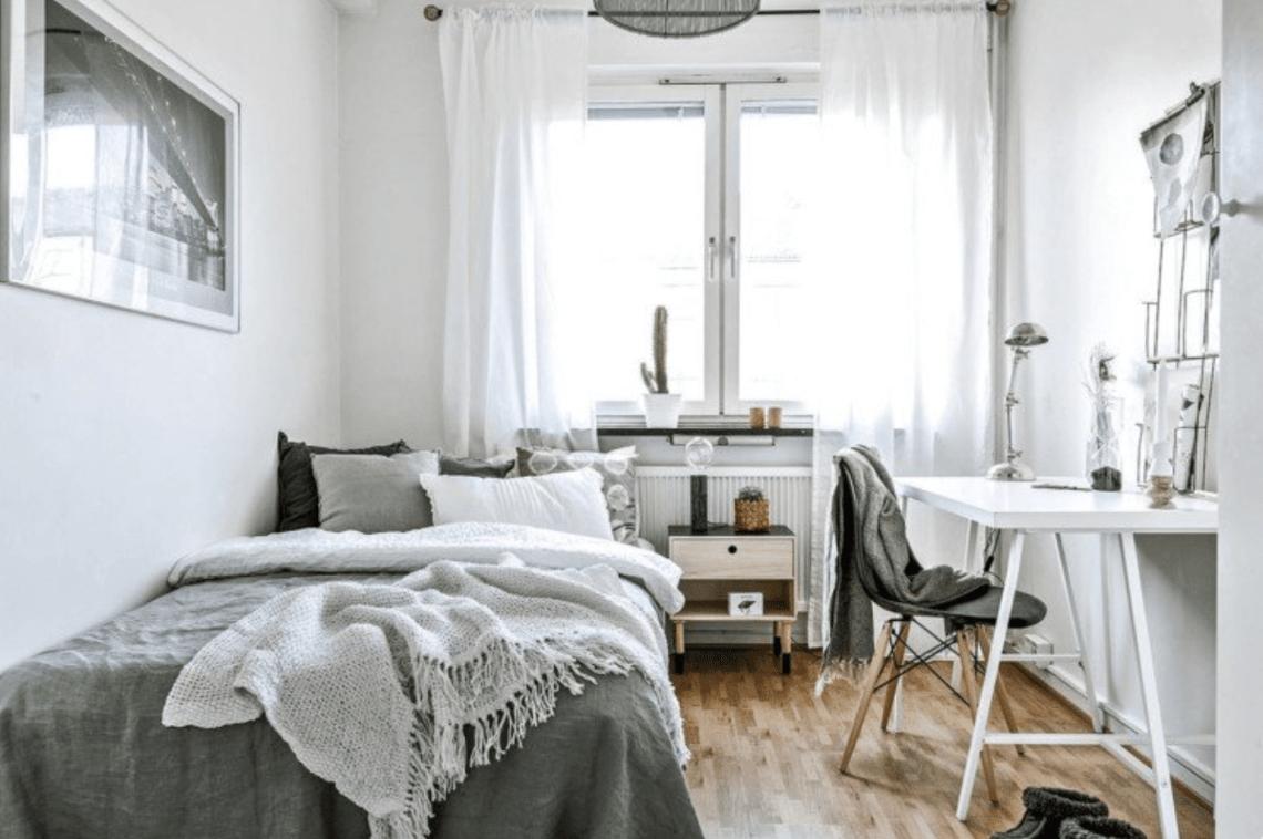 Décorer Sa Chambre Pour Pas Cher petite chambre de 9 m2 en colocation : 27 astuces pour l