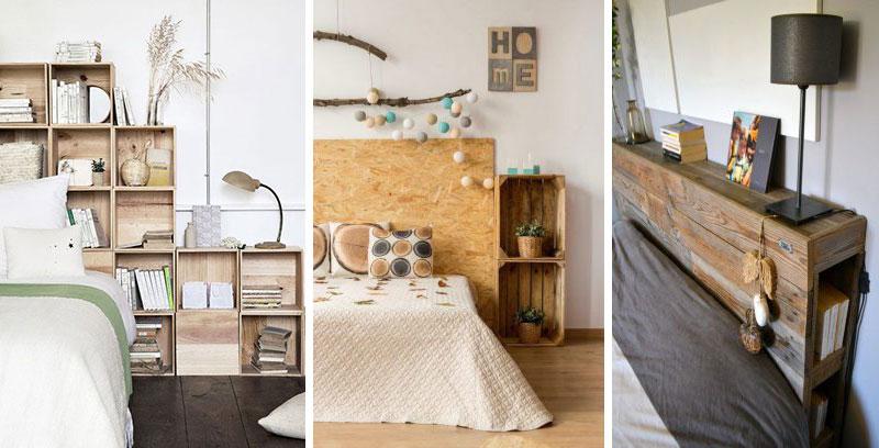 Créer une tête de lit avec rangement et luminaire intégrés